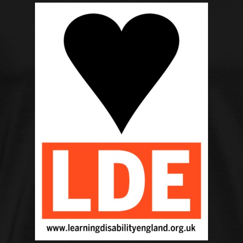 I Love Learning Disability England - Men's Premium T-Shirt