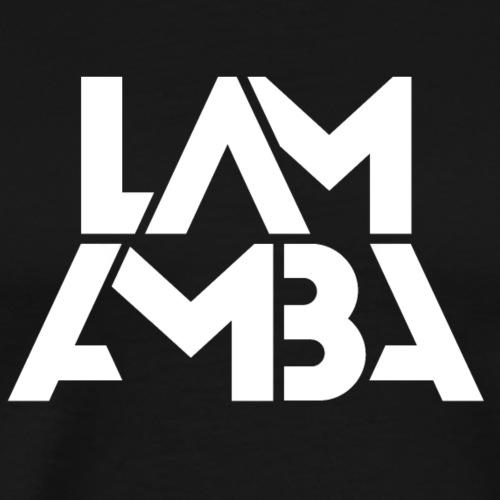 Lamamba classic (weiß) - Männer Premium T-Shirt