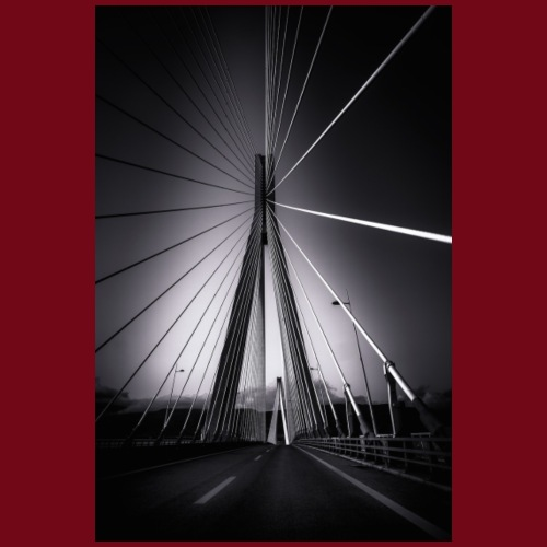 Rio-Andirrio-Brücke - Männer Premium T-Shirt