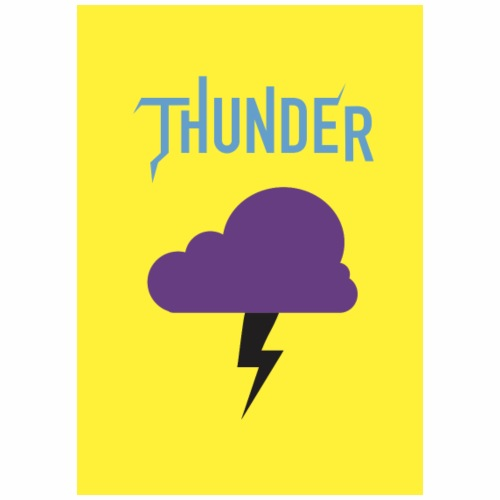 Thunder Bleu - T-shirt Premium Homme