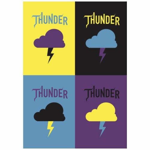 Thunder All - T-shirt Premium Homme