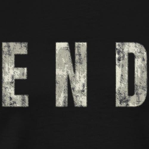 END - The End - Männer Premium T-Shirt