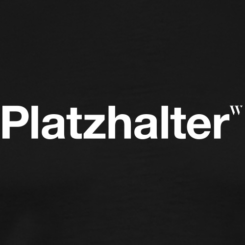 Platzhalter - Männer Premium T-Shirt