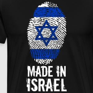 Made in Israel / Made in Israel מדינת ישראל - Premium T-skjorte for menn