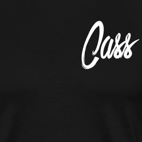 cass signature white - Men's Premium T-Shirt