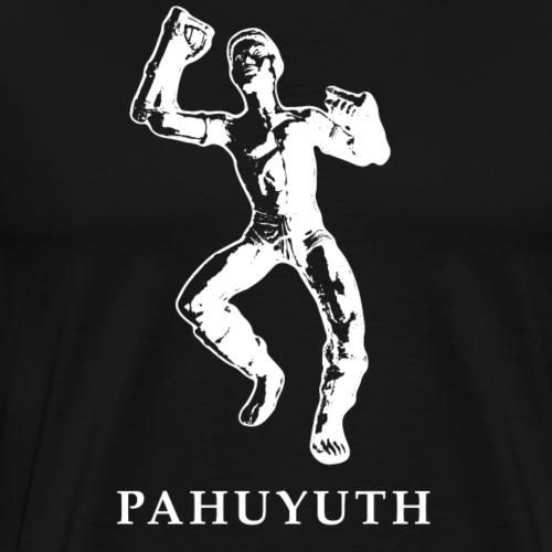 Pahuyuth Teacher Statue White - Männer Premium T-Shirt