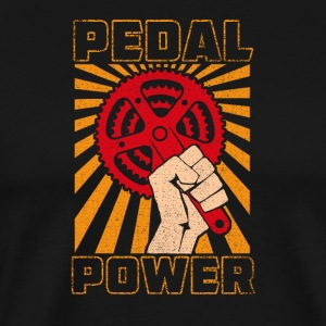 Pedal Power - Men's Premium T-Shirt