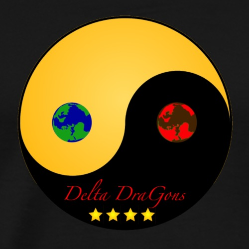 Delta DraGons Gold Edition - Herre premium T-shirt
