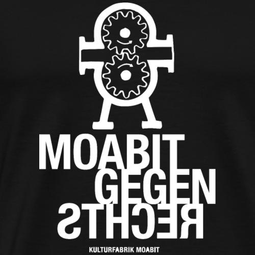 Moabit gegen Rechts - Männer Premium T-Shirt