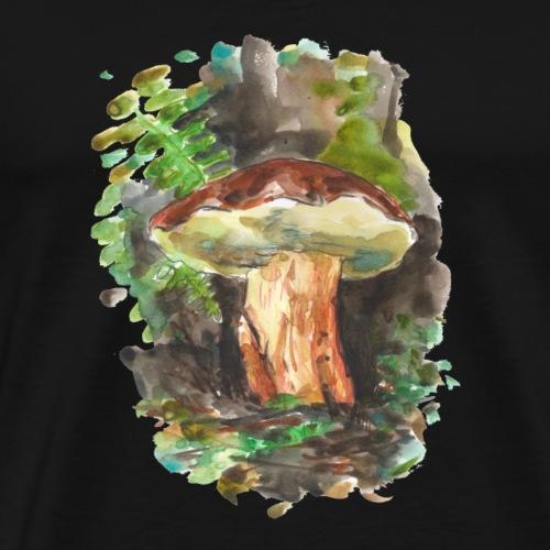 Wald / Pilze / Fungi - Männer Premium T-Shirt