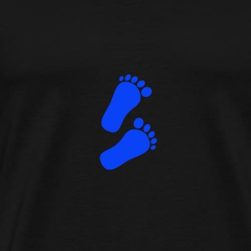 Baby Füße Jungen - Männer Premium T-Shirt