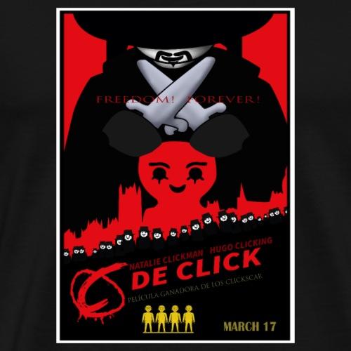 C de Click - Camiseta premium hombre