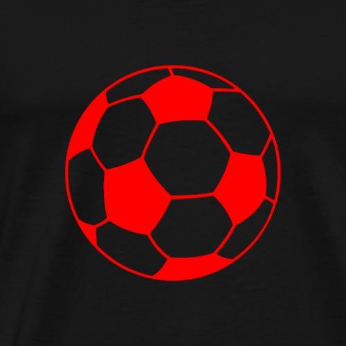 Fußball red - Männer Premium T-Shirt