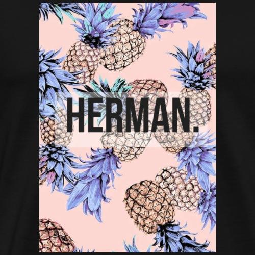 6/6S Pineapple - Camiseta premium hombre