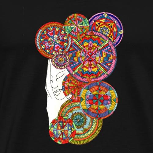 Mandalastep - Camiseta premium hombre