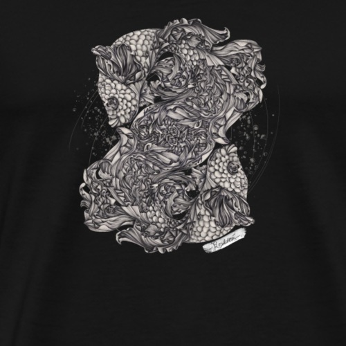 Fische Sternzeichen - Männer Premium T-Shirt