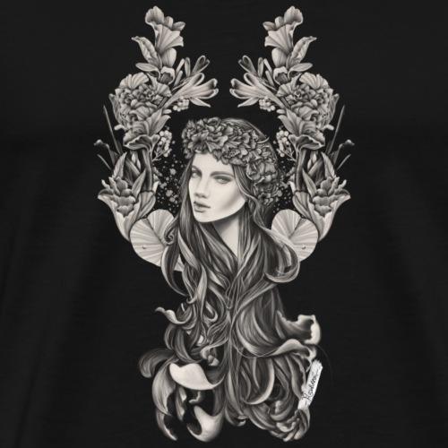 Jungfrau Sternzeichen - Männer Premium T-Shirt