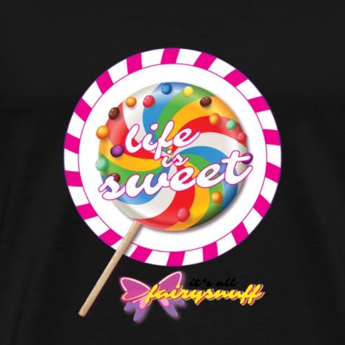 Life is sweet - Men's Premium T-Shirt