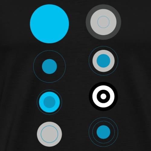 Cerchi - Mannen Premium T-shirt