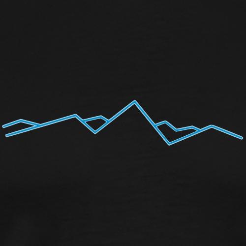 Mountain V1 - Men's Premium T-Shirt