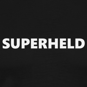 Superhero V1bkDE - Men's Premium T-Shirt