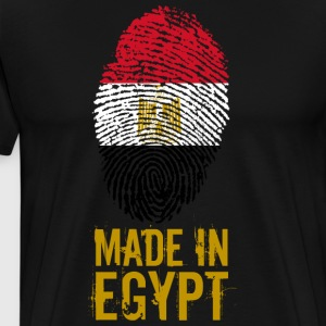 Made in Egypt / Made in Egitto مصر - Maglietta Premium da uomo