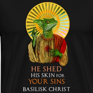 Basilisk Christ - Men's Premium T-Shirt