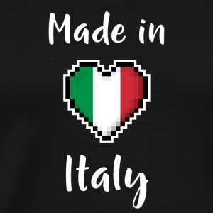 Made in Italy - Premium T-skjorte for menn