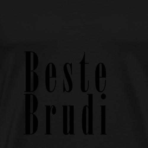 Brudi_black - Männer Premium T-Shirt