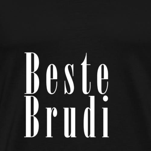 brudi_white - Männer Premium T-Shirt