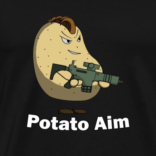 Mr Potato Aim - Men's Premium T-Shirt