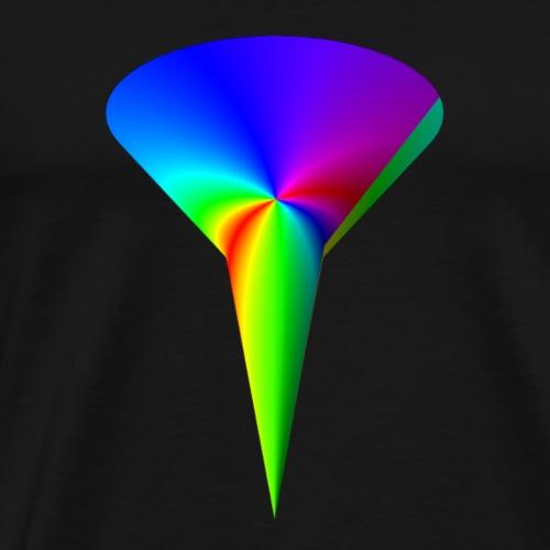 Regenbogentrichter - Männer Premium T-Shirt