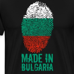 Wykonane w Bułgarii / Made in Bulgaria България - Koszulka męska Premium