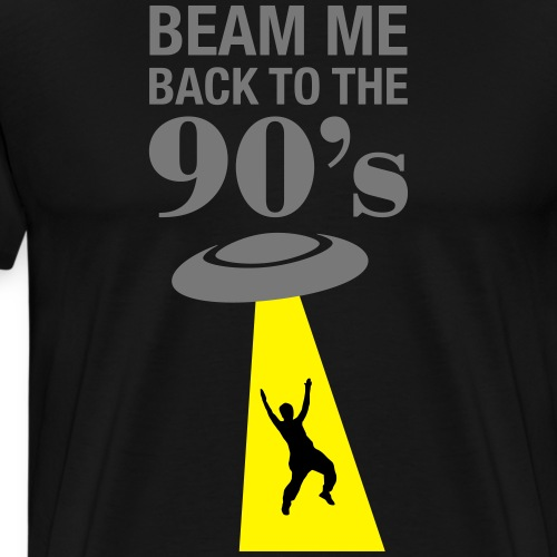 Beam Me Back To The 90s - Männer Premium T-Shirt