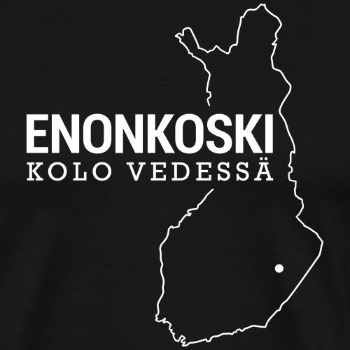 Kotiseutupaita - Enonkoski2 - Miesten premium t-paita