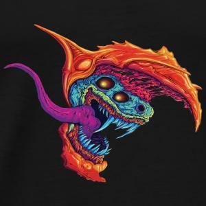 The Beast - Premium-T-shirt herr