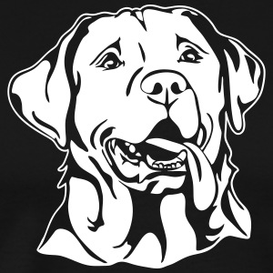 LABRADOR PORTRAIT - Men's Premium T-Shirt