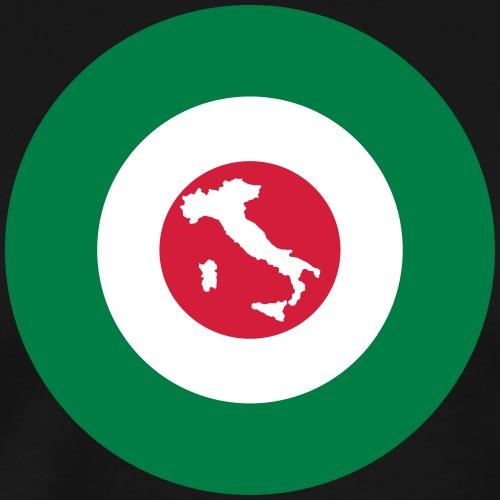Italia Target Stiefel - Männer Premium T-Shirt