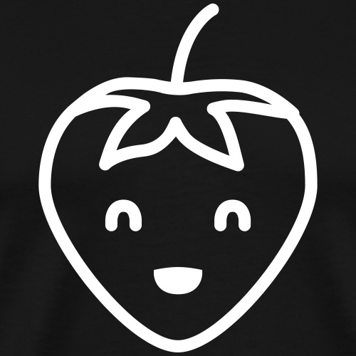 Smiling Strawberry - Männer Premium T-Shirt