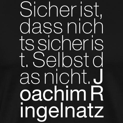 Joachim Ringelnatz - Männer Premium T-Shirt