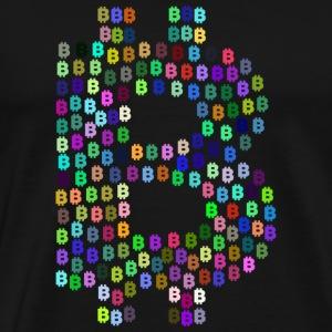 Bitcoin 14 - Männer Premium T-Shirt