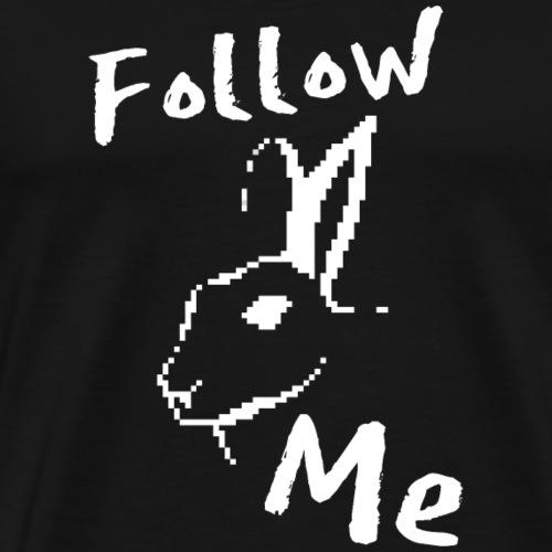 White Rabbit - Männer Premium T-Shirt