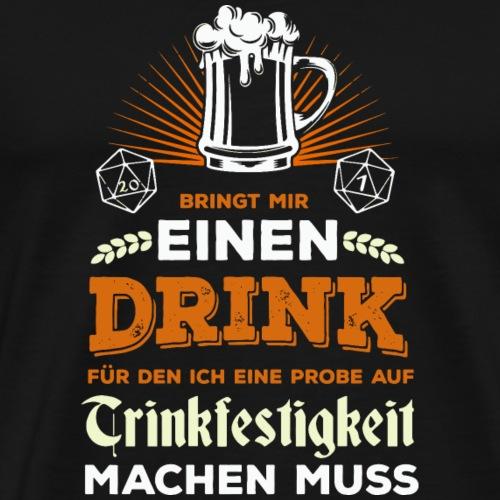 Pen and paper trinkfestigkeit - Männer Premium T-Shirt