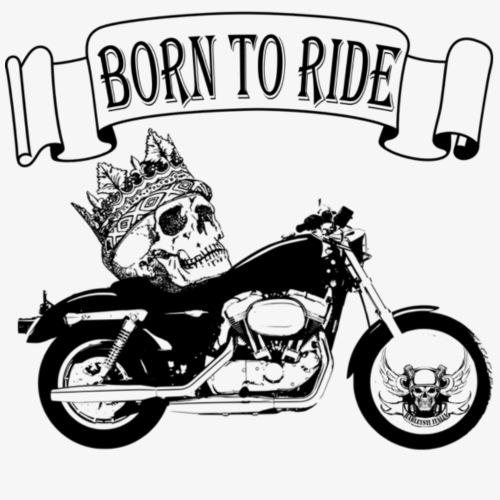 Born to Ride - Maglietta Premium da uomo