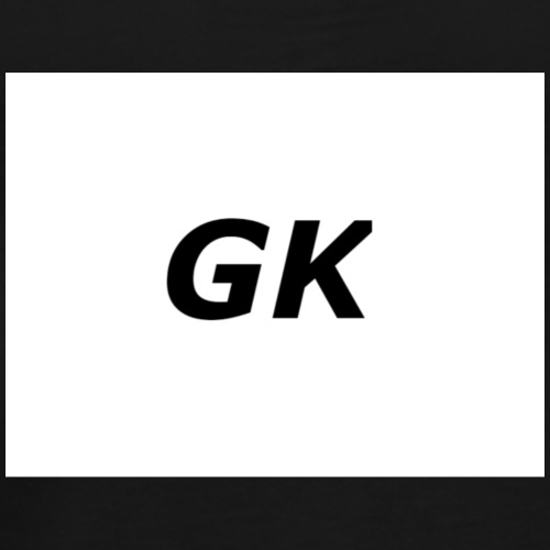 GK merch theogoalkeeper - Premium-T-shirt herr