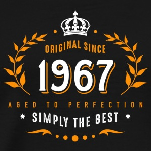 original since 1967 simply the best 50th birthday - Männer Premium T-Shirt