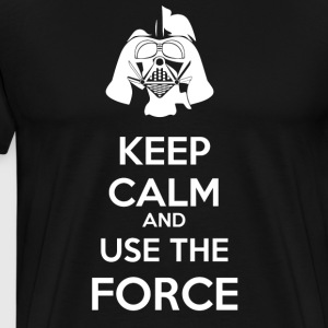 Use The Force Father - Men's Premium T-Shirt