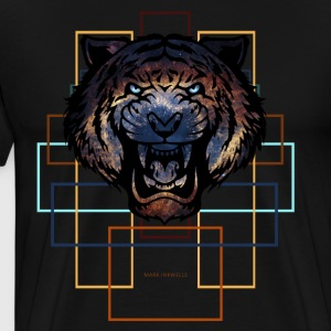 Cosmo Tiger - Men's Premium T-Shirt