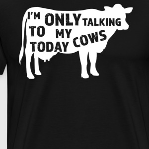 Funny Cows Lover Gift Idea - Men's Premium T-Shirt