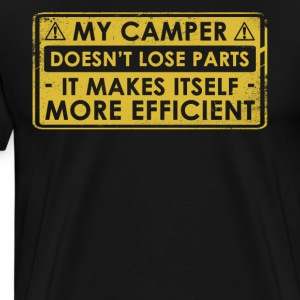 Funny Camper Gift Idea - Men's Premium T-Shirt